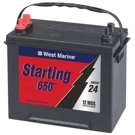 boat vs car battery west marine marine starting battery group 24 m5 west marine