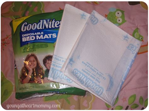 goodnites disposable bed mats making bedtime comfy with goodnites disposable bed mats