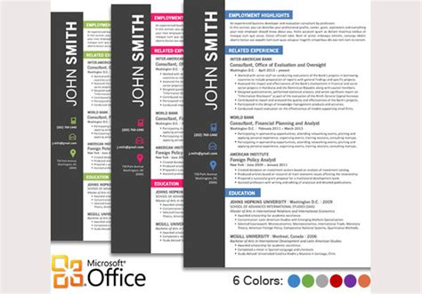 Creative Resume Templates Free For Microsoft Word by Creative Resume Template 79 Free Sles Exles