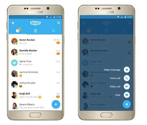 skype for android apk skype 6 0 for android 更新 採用 material design android apk