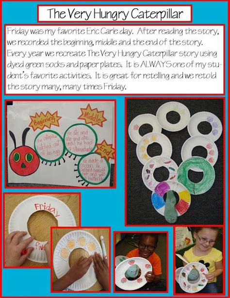 story themed activities golden gang kindergarten the very hungry caterpillar