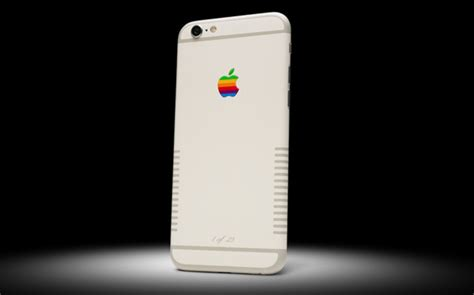 Colorware Spruces Up The Iphone by Colorware Created A Retro Inspired Iphone 6s Sneakhype