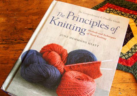 principles of knitting book review principles of knitting