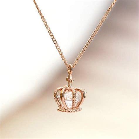 crown necklace princess necklace