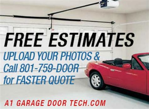 Garage Door Repair Estimate A1 Garage Door Repair Coupons Special Discounts Coupons