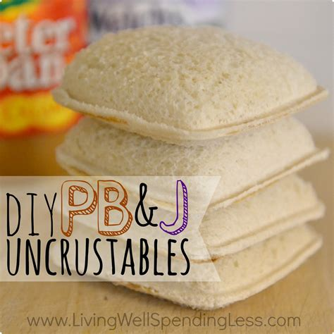 What Do You About Pbjs by Diy Pb J Uncrustables Peanut Butter And Jelly