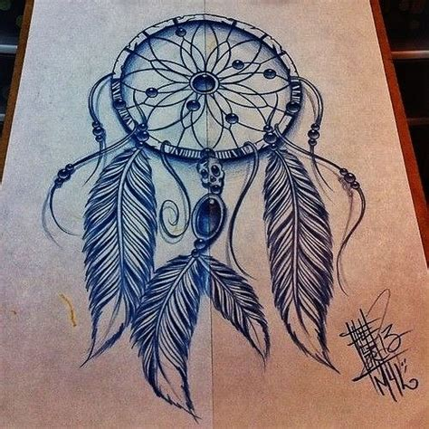 design dream birds dreamcatcher tattoo design