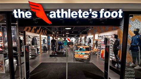 athlete foot shoe store kesko opened the the athlete s foot stores