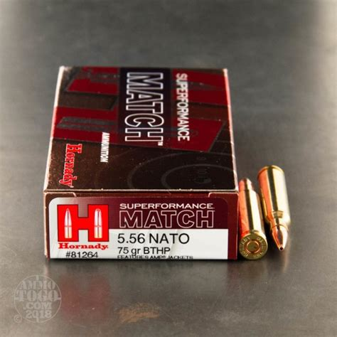 5 56 boat tail 5 56x45mm hollow point boat tail hp bt ammo for sale by