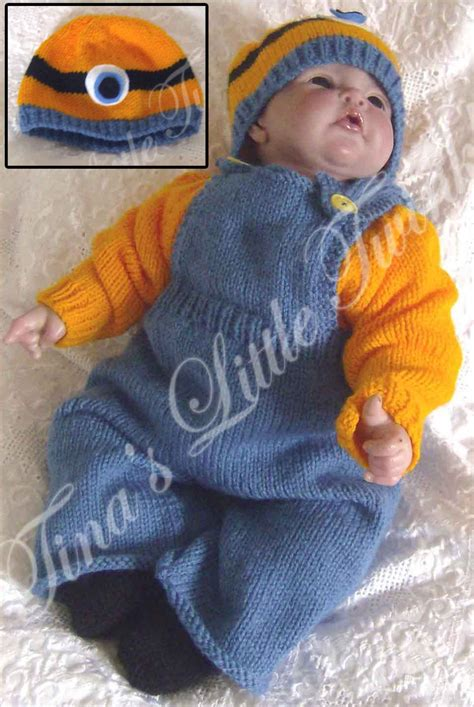 Sweater Minion 07 minions and despicable me knitting patterns in the loop knitting