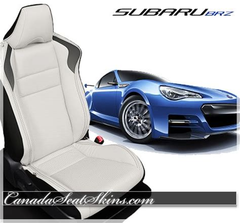subaru brz custom white 2013 2018 subaru brz custom leather upholstery