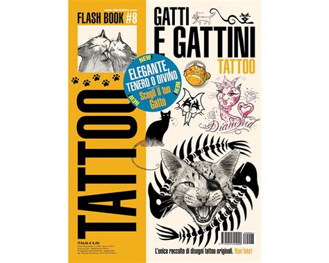 international tattoo supply cat kitten flash book 15 flash book books