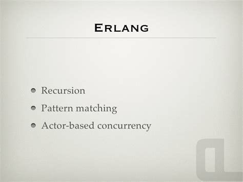 pattern matching erlang the joy of functional programming