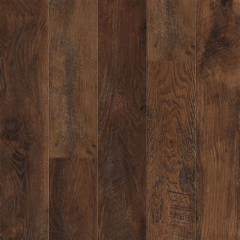 Plank Laminate Flooring Shop Pergo Max 6 14 In W X 3 93 Ft L Lumbermill Oak Embossed Wood Plank Laminate Flooring At