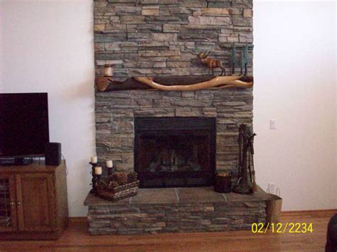 photo gallery custom living room with river rock
