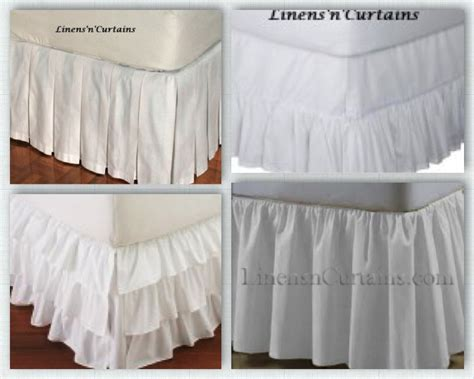 detachable bed skirts velcro detachable bed skirt options linens n curtains