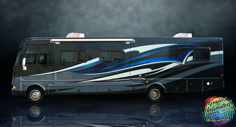 rv graphics design buses and motor homes grafics unlimited