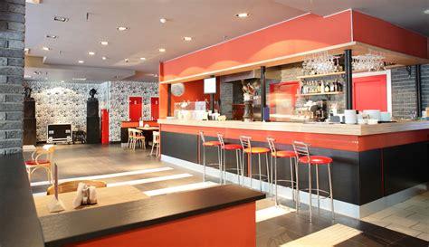 bar minimalista  barra roja fotos   te inspires