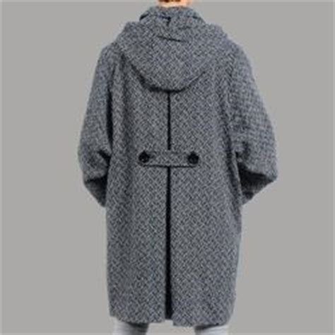 plus size wool swing coat nuage women s plus size black white hooded wool blend
