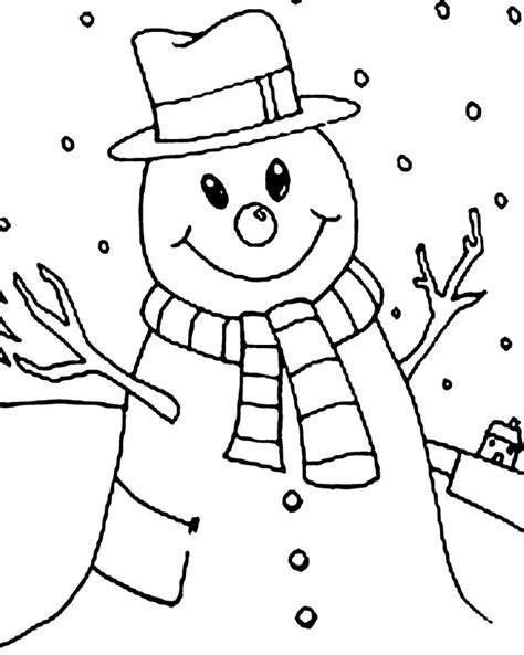 baby snowman coloring page 46 best images about winter on pinterest happy penguin