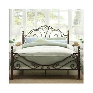 Rustic Metal Bed Frames by Bed Antique Iron Vintage Rustic Metal