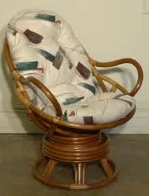 rattan swivel rocker cushion indoor rattan furniture