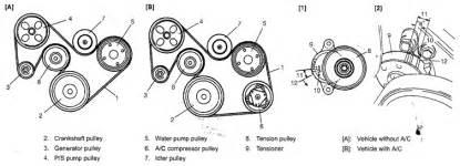 2003 suzuki aerio sx 2 0l serpentine belt diagram