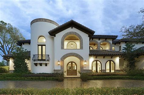 villa luxury home design houston the spanish style villa offers plenty of amenities
