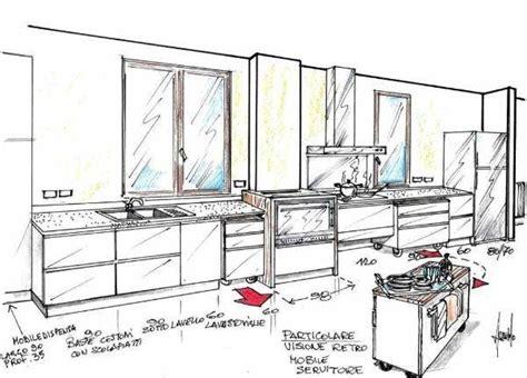 schema cucina cucina su ruote un progetto dinamico