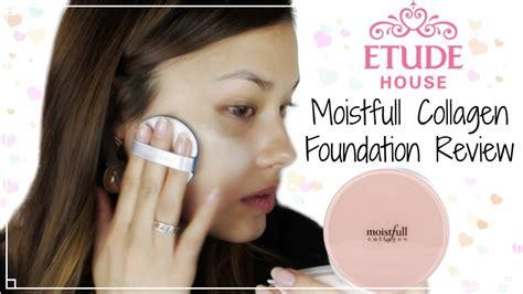 buy etude house first impressions etude house new moistfull collagen foundation review 에뛰드하우스 수분가득 콜라겐 파운데이션