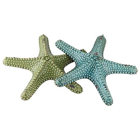 starfish in bed crestview collection starfish statues set of 2 bed