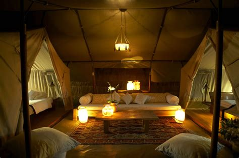 tent bedroom naibor c is a luxury tented c in the heart of kenya