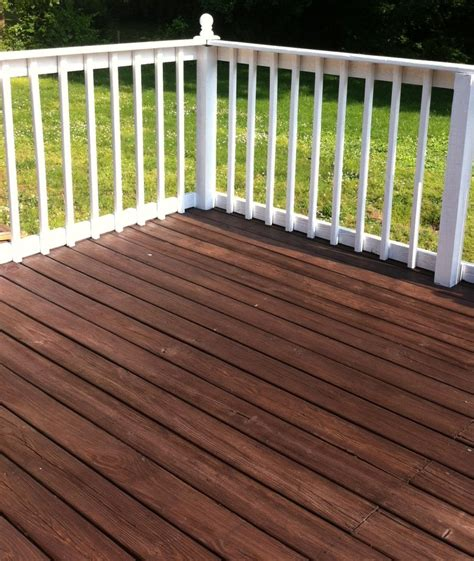 deck painting staining mom   city