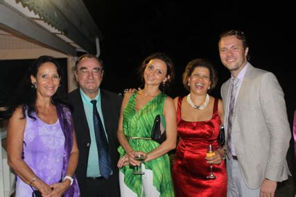 Mba Mr Compton by Ambassador Michel Prom Farewell At The Official