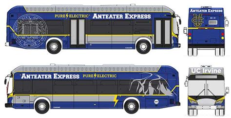 Electric Car Conversion Shops In California Uc Irvine Buying 20 Electric Buses From Byd