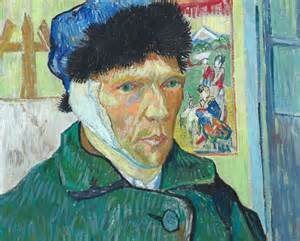 vincent gogh self portrait with bandaged ear the