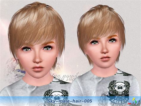 skysims hair child 188 sims 3 pinterest skysims hair 005 child