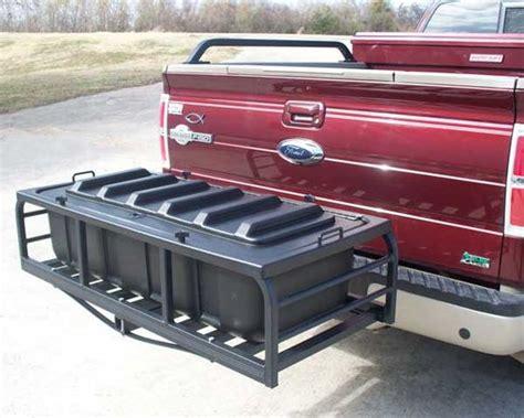 receiver storage rack hitch n ride dry haul cargo carrier w box hnr3000t