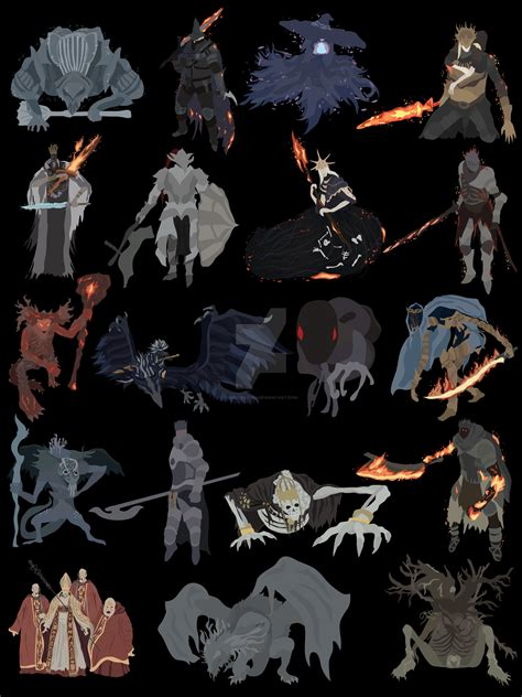 ds3 deacons of the souls iii all bosses by digitalcleo on deviantart