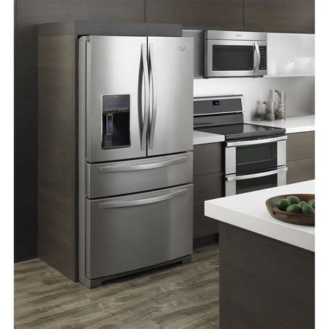 whirlpool kitchen appliances reviews wrx988sibm whirlpool 36 quot 26 cu ft 4 door french door
