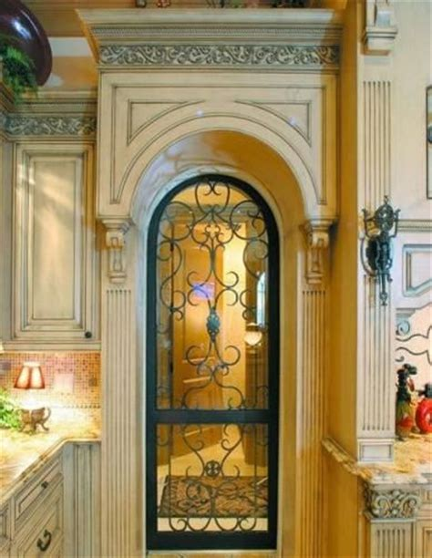 Iron Pantry Door by Wrought Iron Irons And Pantry Doors On