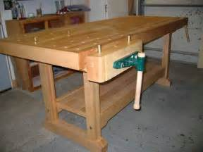 woodworking workbench design wood workbench plans free how to make a woodworking bench