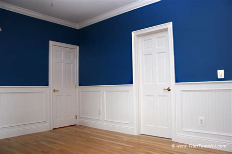 Wainscoting Prices by Wainscot And Picture Frames Trim Team Nj Woodwork
