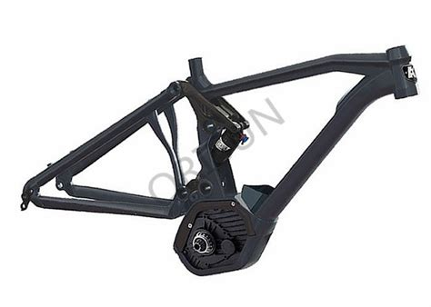 Painting 6061 Aluminum by Cx Mid Drive Electric Bike Frame Aluminum Alloy 6061