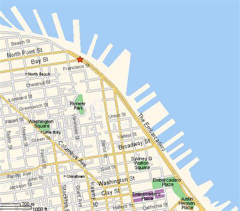 san francisco map pier 33 san francisco piers map michigan map