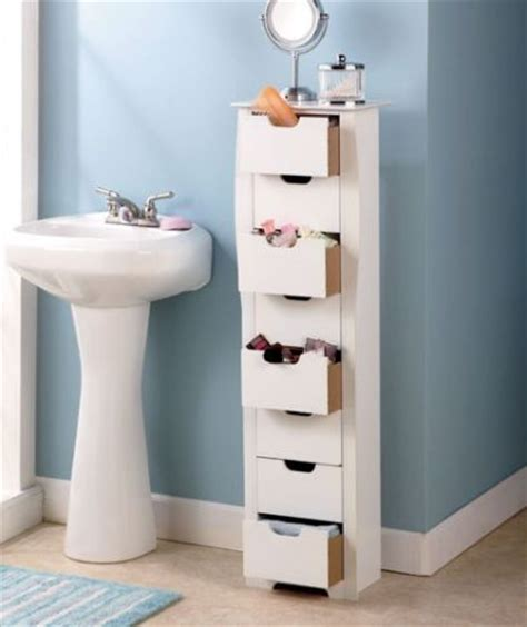 space saving bathroom storage details about slim space saver 8 drawer cabinet storage