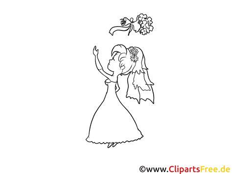 braut zeichnung braut mit brautstrau 223 bild zeichnung clipart gratis