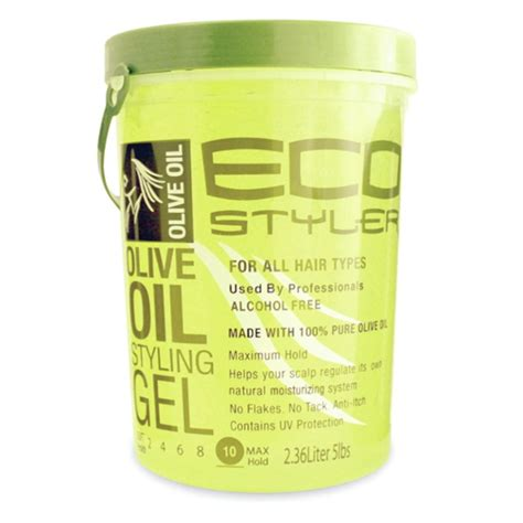 Eco Styling Made Easy With Eco Stylist by Eco Hair Gel 5 Lb