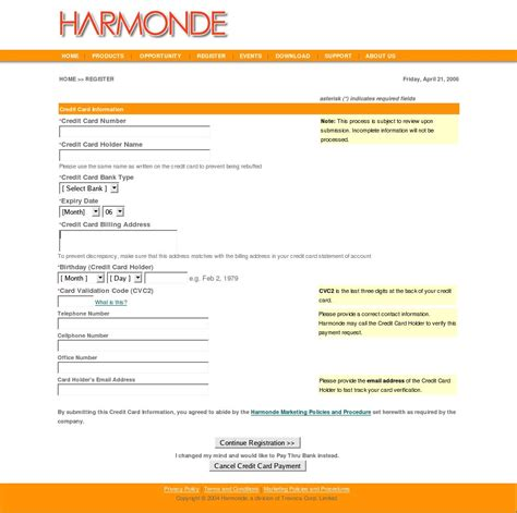Credit In Form Harmonde Wiki Howtopay
