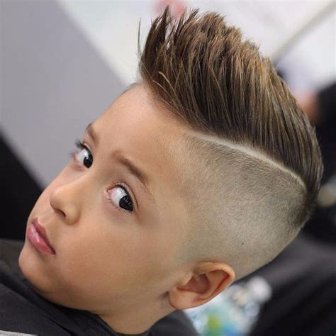 little boys spiked hair styles boys kids hairstyles trendy transformations hairstylesco